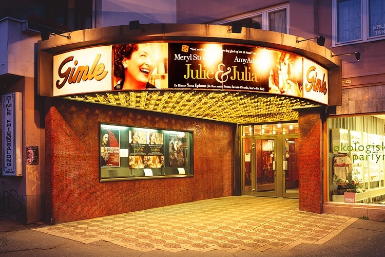 Front of the Cinema