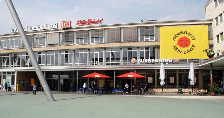 Outside KulturBahnhof
