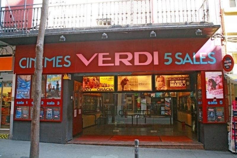 Cinemes Verdi Barcelona