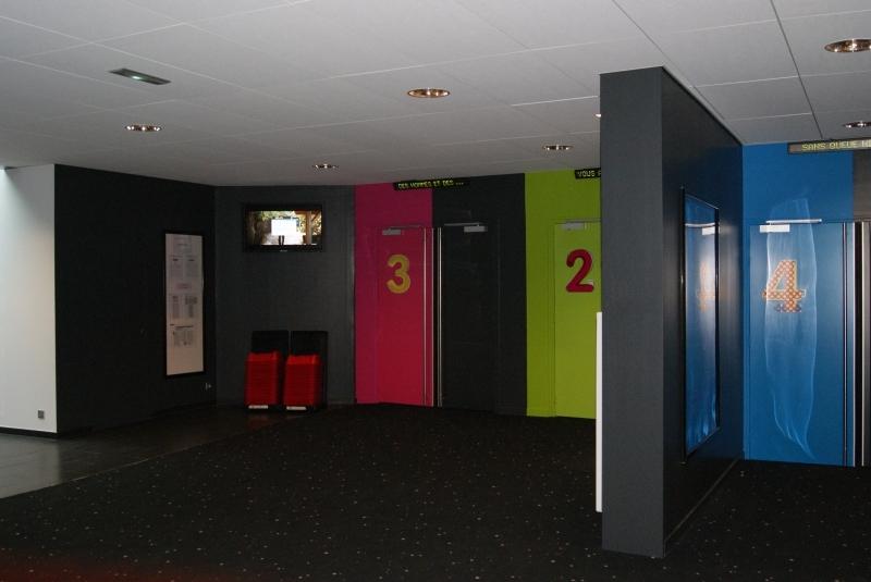 Entrées des salles 2-3-4