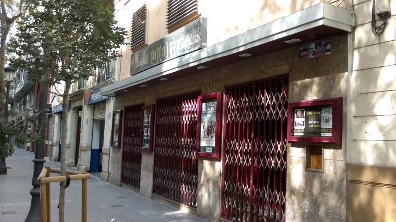 Cinema's facade