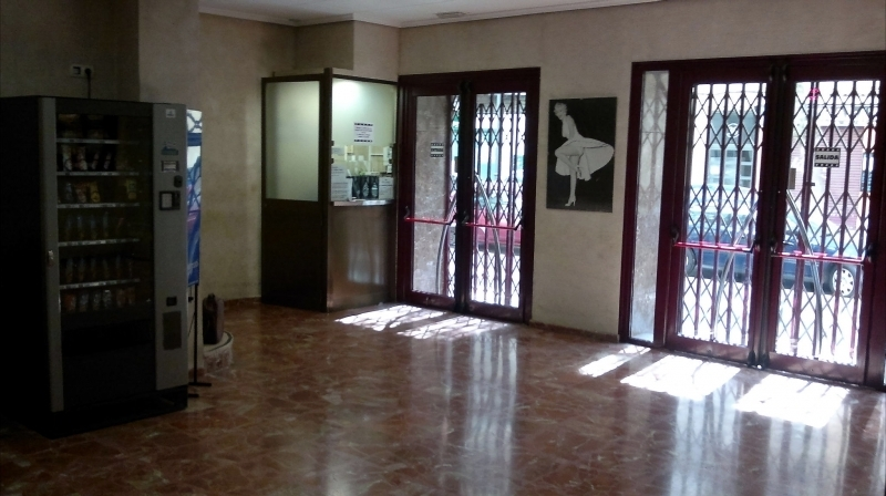 Cinema's hall