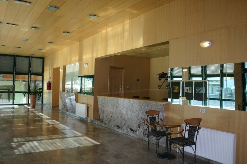 Nova Gorica Art Centre - Lobby with ticket office