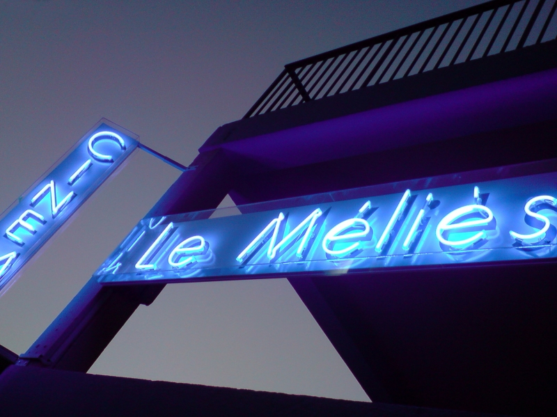 Neon Sign Méliès