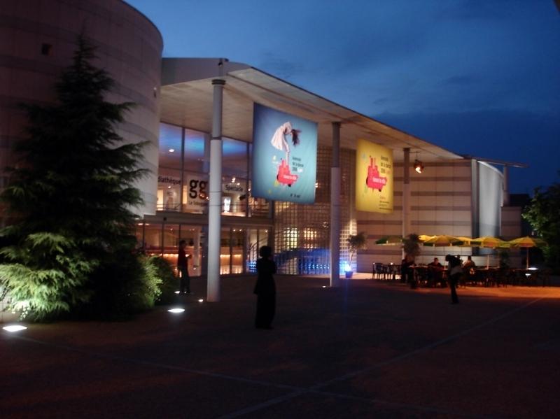Batiment Toboggan Théâtre Cinéma Exposition