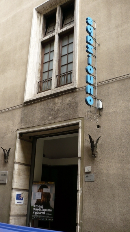 Outside view of Spazio Uno (Florence)