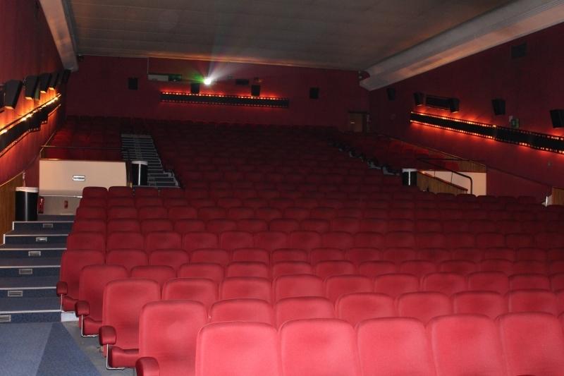 la salle de cinéma avant travaux