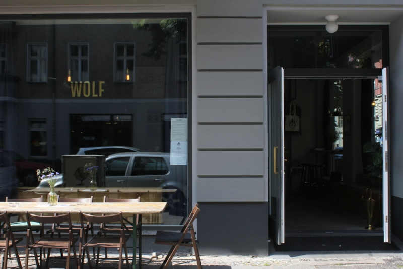 Wolf Entrance