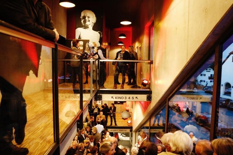 Inside the cinema