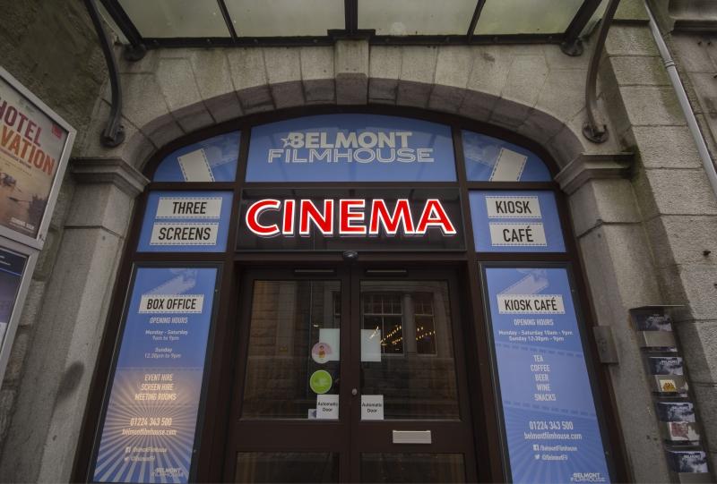 Belmont Filmhouse Facade