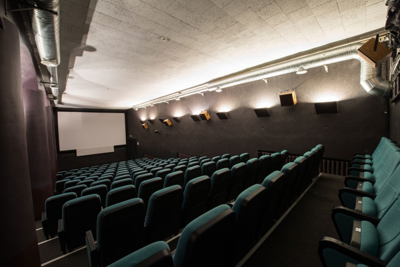 Le salle de cinema